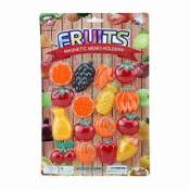 harga GRATIS ONGKIR dan gratis buble wrap Mainan Anak Fruits Magnetic Memo Holders Buah Tempelan Kulkas 16 Pcs mainan anak terbaru Blibli.com