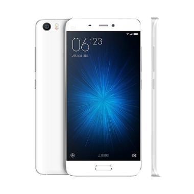 harga Xiaomi MI 5 Smartphone - White [64 GB/3 GB] Blibli.com