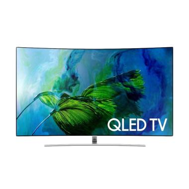 RESMI Samsung QA75Q8C Curved Smart QLED TV 75 Inch