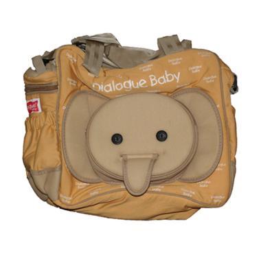 Dialogue Baby DGT-7118 Medium Cute Series Baby Bag - Brown