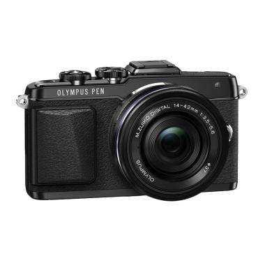 Olympus PEN E-PL7 Kit 14-42mm - Hitam
