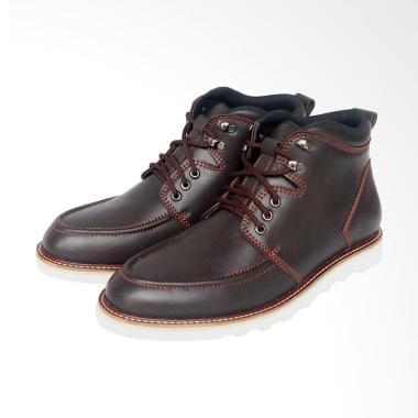 Wetan Shoes Sepatu Boot Pria Kulit  ...  Bandung Murah Keren Gaul