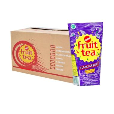 Sosro Fruit Tea Blackcurrant Minuman Teh [200 mL/1 Dus]