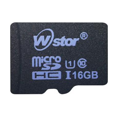 W-Stor Micro SD Memory Card [Class 10/ 16 GB]