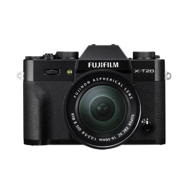 Fujifilm XT20 X-T20 Black Kit 16-50 ... ) + SDHC 32GB  (By Claim)