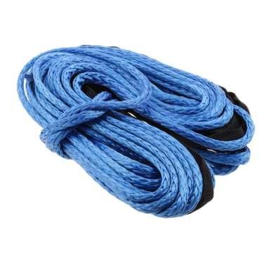 harga 1/4'' x 50' 4000LBs Synthetic Winch Line Cable Rope w/ Sheath for ATV UTV Blibli.com