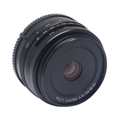 Meike 28 MM APS-C F2.8 Lensa Kamera for Sony Mirrorless