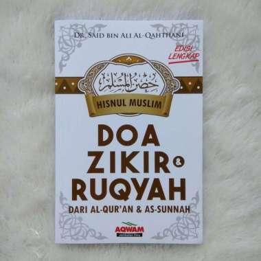 Aqwam Buku Hishnul Muslim Doa Zikir Dan Ruqyah Dari Al-Qur'an dan As Sunnah Buku religi