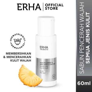 ERHA Truwhite Brightening Facial Wash [60 ml] - Sabun Pencerah Wajah