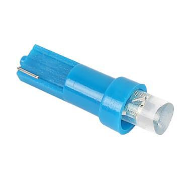 JMS T5 1 SMD Concave Lampu LED Mobi ... ard - Blue [1 Pair/2 Pcs]