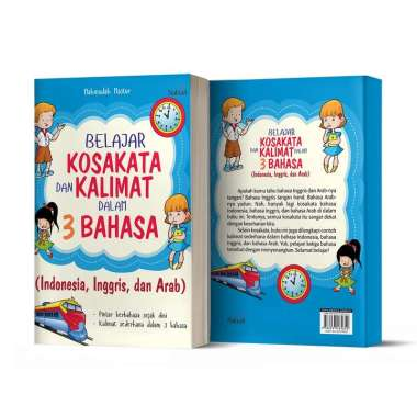 harga Buku Belajar Kosakata dan Kalimat dalam 3 Bahasa - NOKTAH Blibli.com