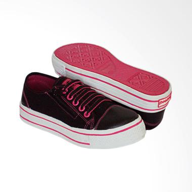 RecordShoes Celine Sepatu Sneaker - Black Fuschia