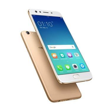 Oppo F3 Smartphone [64GB/4GB] - Gold