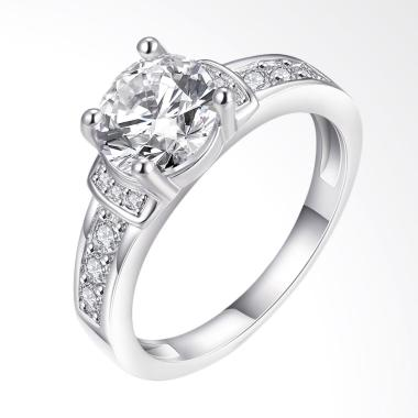 Bella & Co Ring AKR003-6 Aksesoris Cincin Lapis Emas