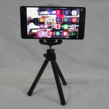 harga Premium Tripot Tripod Mini - Tripod Serbaguna HP Kamera  Diskon Blibli.com