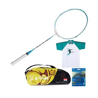 Weekend Deal - Paket Hi-Qua New Ult ... Badminton/Tas/Kaos/Senar]