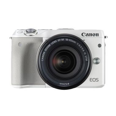 Canon M3 with Ef-M15-45mm Kamera Mirrorless - White