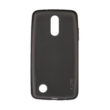 lg k8 2017. ume emerald softcase casing for lg k8 2017 - hitam lg