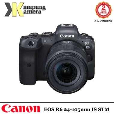 harga Canon EOS R6 24-105mm f/4-7.1 IS STM Mirrorless Digital Camera Garansi Resmi Datascrip Blibli.com