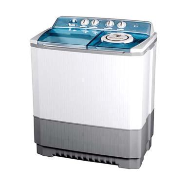 LG P120R Mesin Cuci 2 Tabung - Putih [12 kg]