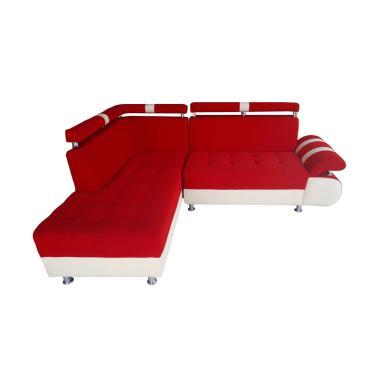 Sumber Rejeki Monalisa Tipe 007 Kursi Sofa - Red [Pre Order]