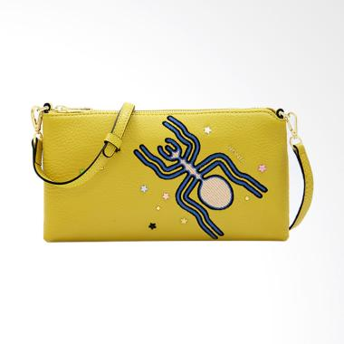 Bonia The Nazca Crossbody Sling Bags - Yellow