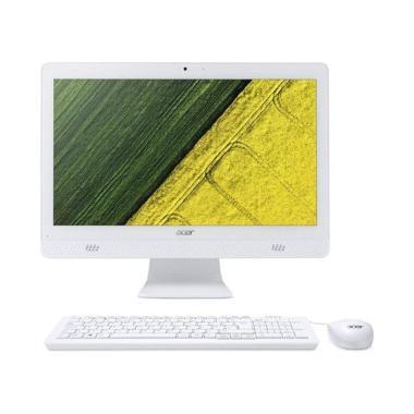 harga Acer Aspire C20-720 AIO Desktop PC [19.5 Inch/ CelJ3060/ HD Graphics/ 2 GB/ Win10] Blibli.com