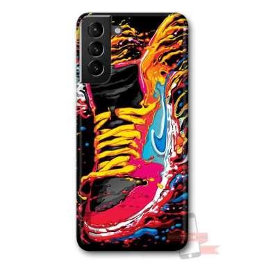 harga Indocustomcase Casing Hard Case Nike Shoes Gravity Art For Samsung Galaxy S21 Multicolor Blibli.com