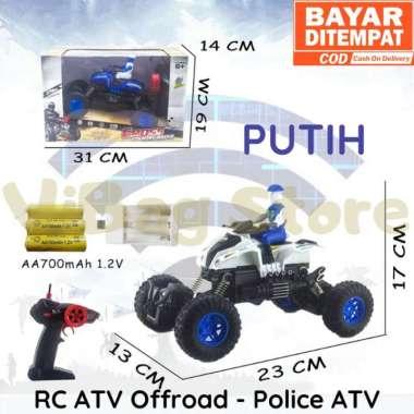 harga RC Offroad Motor Polisi 2wd Mainan Anak Remote Control RADAR RDR1111 Putih Blibli.com