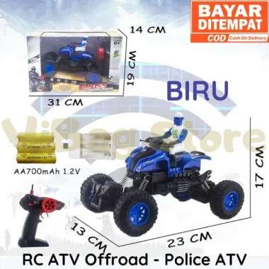 harga RC Offroad Motor Polisi 2wd Mainan Anak Remote Control RADAR RDR1111 Biru Blibli.com