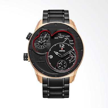 Expedition Jam Tangan Pria - Rosegold Black 6737