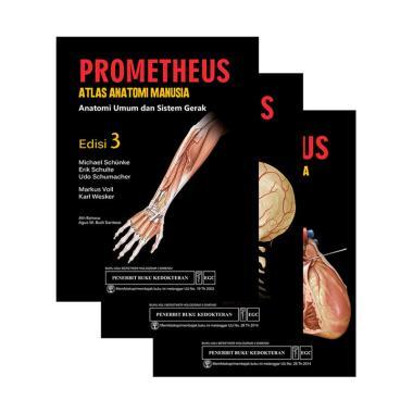 EGC Prometheus Edisi 3 by Michael Schunke, dkk Set Buku Edukasi