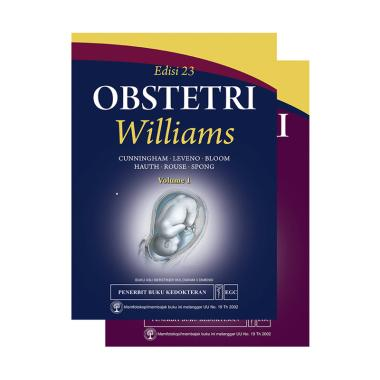 EGC Obstetri William Edisi 23 by F. Gary Cunningham, MD Set Buku Referensi