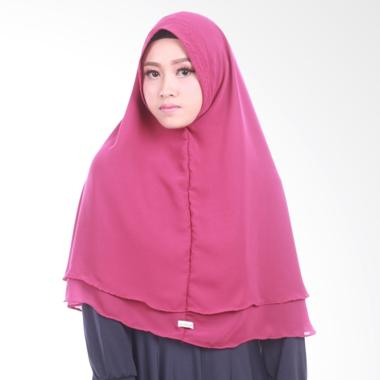 Atteena Khimar Najla Non Pet Hijab - Dark Purple