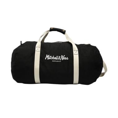 Mitchell n Ness NBA Team Logo Duffle Bag - Black [TLD]