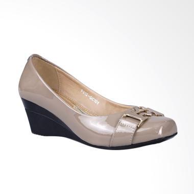 Ghirardelli Wedges Becca Sepatu Wanita - Khaky