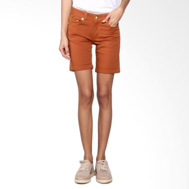 Bronco 6038 Hot Pants Chinos Terracotta