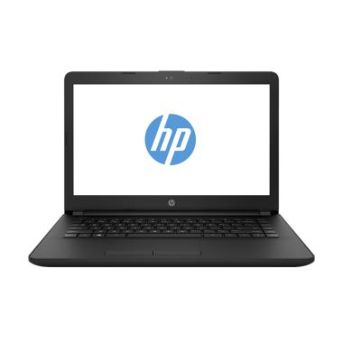 HP 14-BW010AU Notebook - Black [A6-9220/RAM 4GB/HDD 500GB/ DOS]