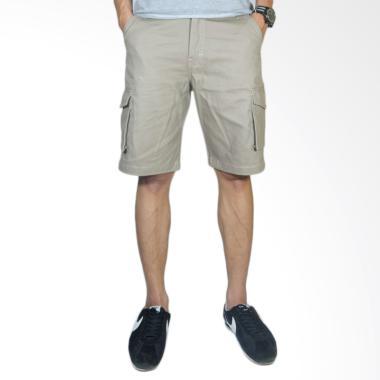 NHS Wear Celana Cargo Pendek Pria - Beige
