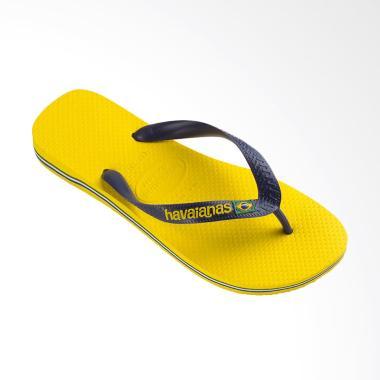 Havaianas 2197 Brasil Logo Sandal Flip Flop Unisex - Citrus Yellow