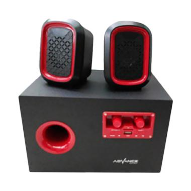 Advance Duo 600 Speaker - Red