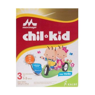Morinaga Chil Kid Tahap 3 Vanilla  Susu Formula [1600 gr]