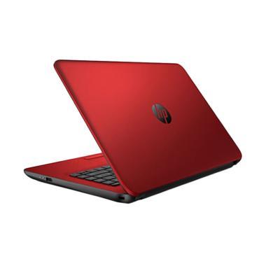 HP Pavilion 14 BW007AU Notebook - Red [AMD A4 9120/ 4GB/ 500GB]
