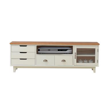 Livien Dresser Coco Heim Series Meja TV - White