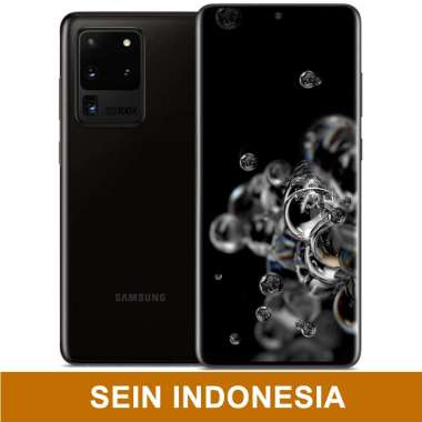 harga Samsung Galaxy S20 Ultra Smartphone [12GB/ 128GB] SEIN INDONESIA - NEW SEGEL black Blibli.com