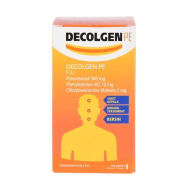 harga Decolgen PE Flu [10 Kaplet/10 Blister] Blibli.com