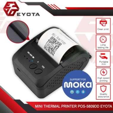 harga Premium Mini Thermal Printer Bluetooth POS-5809DD Eyota - Mini Printer 5809 Berkualitas Blibli.com