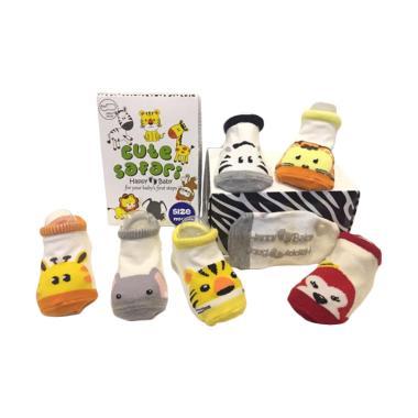 Happy Baby Cute Safari Box Kaos Kaki Bayi [NB]