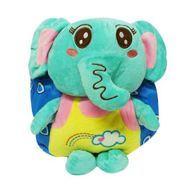 Shine Accessories TB0299 BLDE Elephant MTF Tas Boneka Anak - Blue