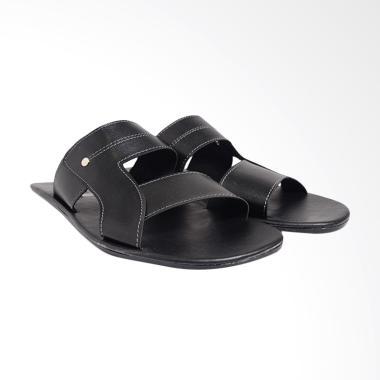 Dr.Kevin PU Leather Sandals Men - Black 97187